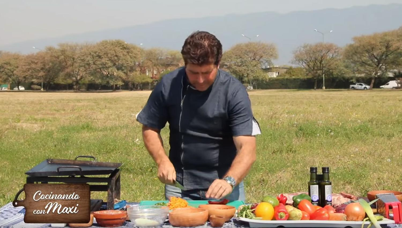 Hoy en cocinando con maxi medallones de merluza con for Cocinando con sergio en la1