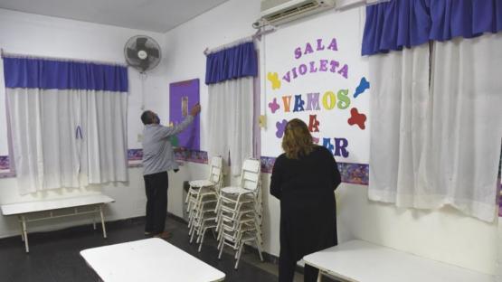 Escuelas municipales, preparadas para la vuelta a clases