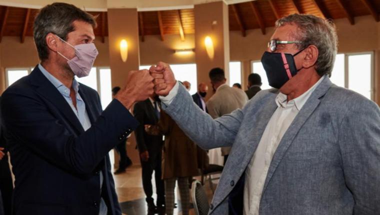El candidato oficialista de San Martín se reunió con el ministro Lammens