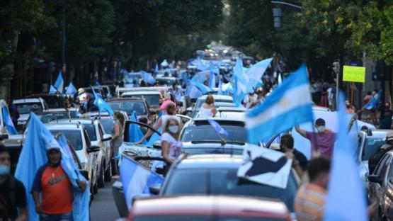 Hubo banderazos en las principales ciudades del país