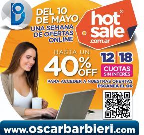 Hot Sale: aprovechá los descuentos imperdibles en Oscar Barbieri