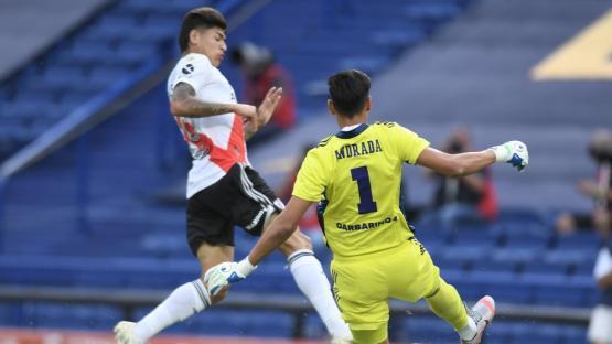 Boca y River jugarán el domingo a las 17.30 en la Bombonera