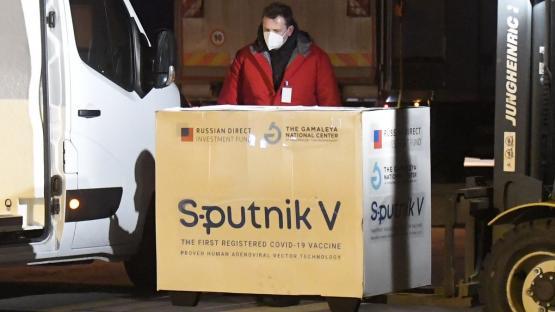 El país recibió 500.000 dosis del segundo componente de la Sputnik V